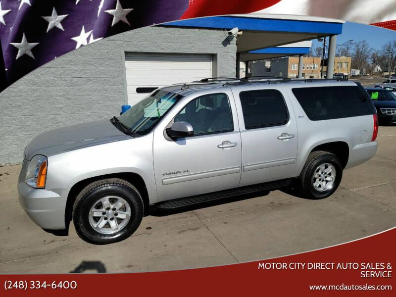 2010 GMC Yukon XL for sale at Motor City Direct Auto Sales & Service in Pontiac MI