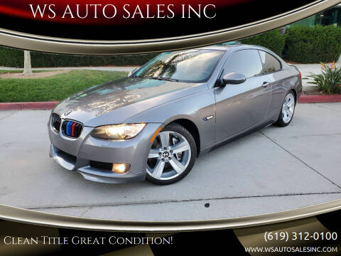 2007 BMW 3 Series for sale at WS AUTO SALES INC in El Cajon CA