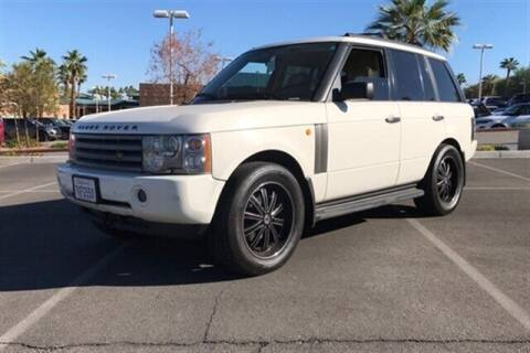 2003 Land Rover Range Rover for sale at Boktor Motors in North Hollywood CA