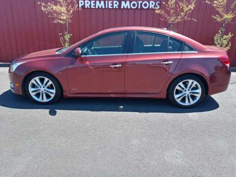 2013 Chevrolet Cruze for sale at PREMIERMOTORS  INC. in Milton Freewater OR