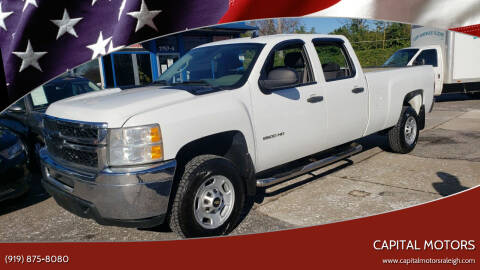 2014 Chevrolet Silverado 2500HD for sale at Capital Motors in Raleigh NC