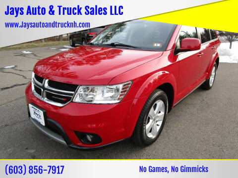 2012 Dodge Journey for sale at Jays Auto & Truck Sales LLC in Loudon NH
