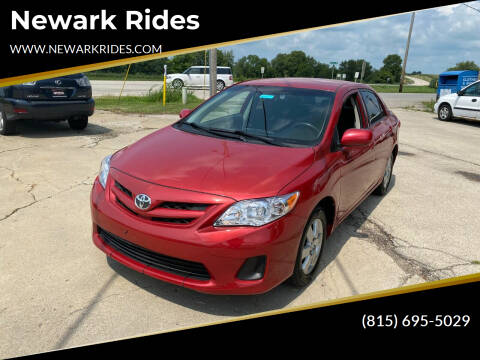 2011 Toyota Corolla for sale at Newark Rides in Newark IL