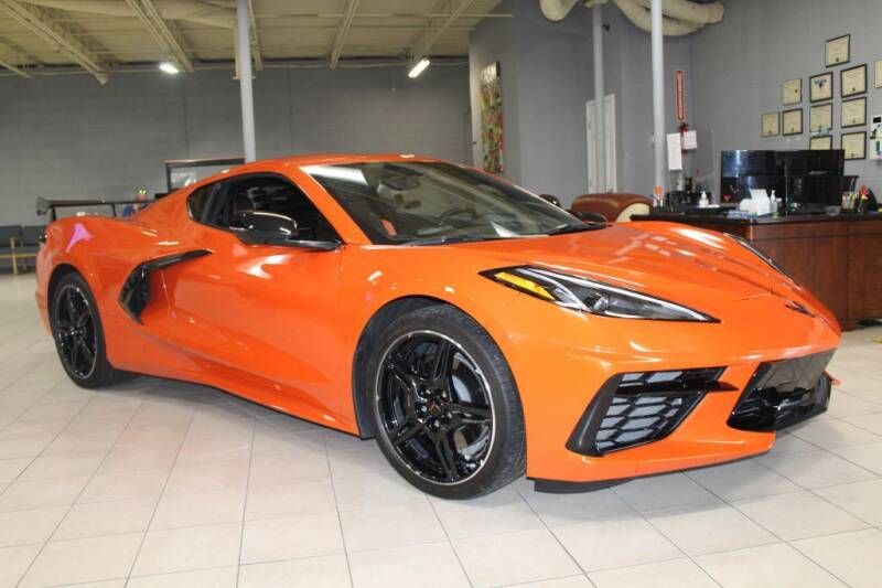 2021 Chevrolet Corvette for sale at SHAFER AUTO GROUP in Columbus OH