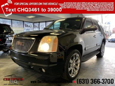 2012 GMC Yukon for sale at CERTIFIED HEADQUARTERS in St James NY