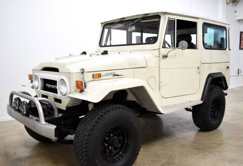 1971 Toyota FJ Cruiser for sale at Thoroughbred Motors in Wellington FL