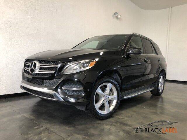 2017 Mercedes-Benz GLE for sale at BLACK LABEL AUTO FIRM in Riverside CA