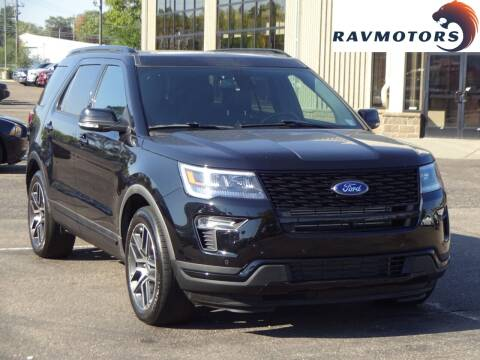 2019 Ford Explorer for sale at RAVMOTORS 2 in Crystal MN