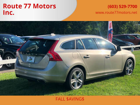2015 Volvo V60 for sale at Route 77 Motors Inc. in Weare NH