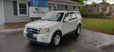 2011 Ford Escape for sale at 369 Auto Sales LLC in Murfreesboro TN
