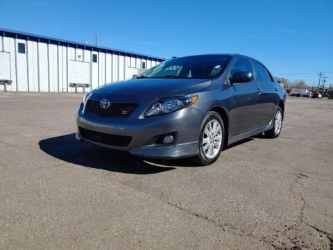 2010 Toyota Corolla for sale at Americano Auto Sales in Denver CO