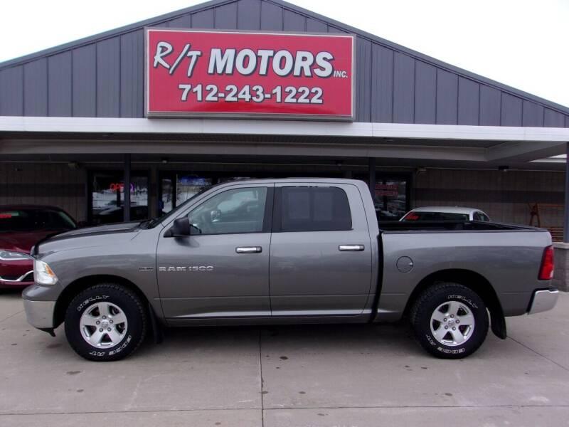 2012 RAM Ram Pickup 1500 for sale at RT Motors Inc in Atlantic IA