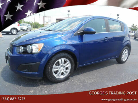 2013 Chevrolet Sonic for sale at GEORGE'S TRADING POST in Scottdale PA