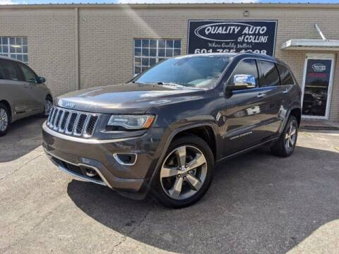2014 Jeep Grand Cherokee for sale at Quality Auto of Collins in Collins MS