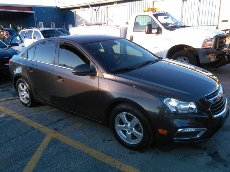 2015 Chevrolet Cruze for sale at Clinton MotorCars in Shrewsbury MA