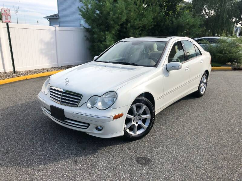 2007 Mercedes-Benz C-Class for sale at Giordano Auto Sales in Hasbrouck Heights NJ