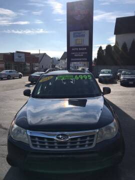 2011 Subaru Forester for sale at Ramstroms Service Center in Worcester MA