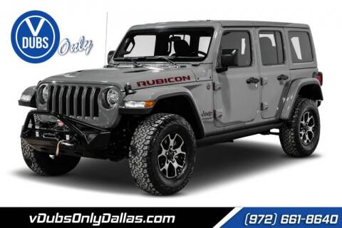 2019 Jeep Wrangler Unlimited for sale at VDUBS ONLY in Dallas TX