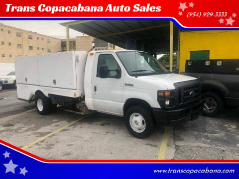 2011 Ford E-Series Chassis for sale at Trans Copacabana Auto Sales in Hollywood FL