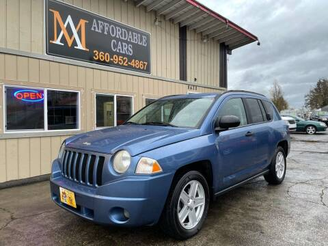 2007 Jeep Compass for sale at M & A Affordable Cars in Vancouver WA