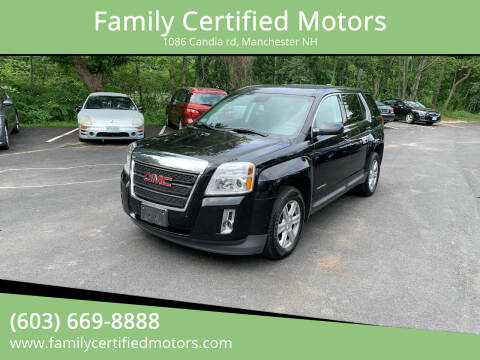 2015 GMC Terrain for sale at Family Certified Motors in Manchester NH