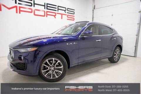 2017 Maserati Levante for sale at Fishers Imports in Fishers IN