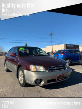 2001 Subaru Outback for sale at Quality Auto City Inc. in Laramie WY