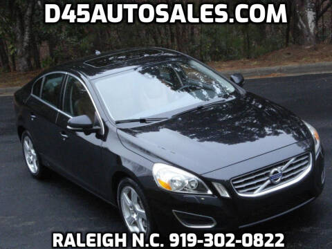 2012 Volvo S60 for sale at D45 Auto Brokers in Raleigh NC