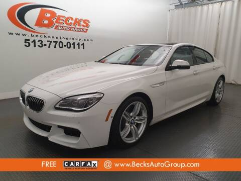 2017 BMW 6 Series for sale at Becks Auto Group in Mason OH