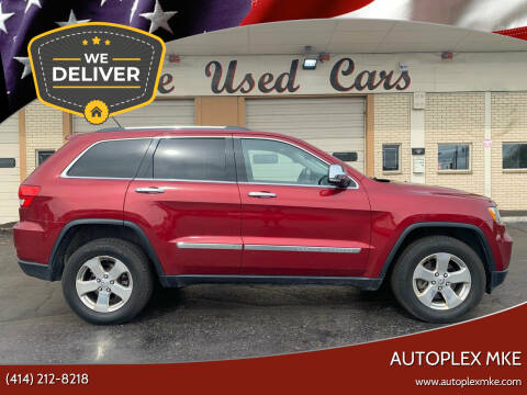 2013 Jeep Grand Cherokee for sale at Autoplexwest in Milwaukee WI