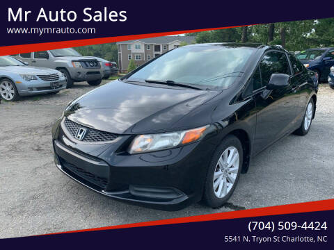 2012 Honda Civic for sale at Mr Auto Sales in Charlotte NC
