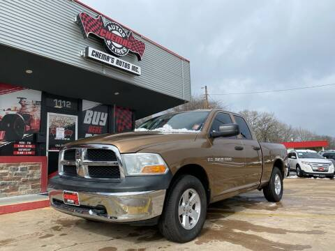 2011 RAM Ram Pickup 1500 for sale at Chema's Autos & Tires in Tyler TX