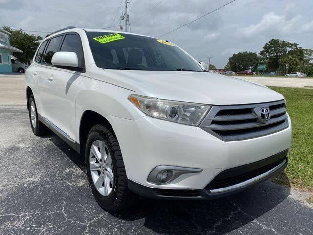 2013 Toyota Highlander for sale at Palm Bay Motors in Palm Bay FL