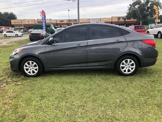 2012 Hyundai Accent for sale at Unique Motor Sport Sales in Kissimmee FL