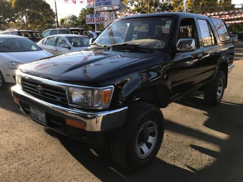 1995 Toyota 4Runner for sale at EXPRESS CREDIT MOTORS in San Jose CA