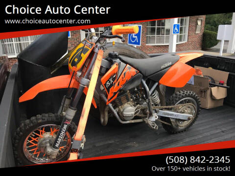 2004 KTM SX50 for sale at Choice Auto Center in Shrewsbury MA