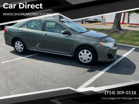 2012 Toyota Camry Hybrid for sale at Car Direct in Orange CA