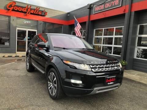 2014 Land Rover Range Rover Evoque for sale at Goodfella's  Motor Company in Tacoma WA