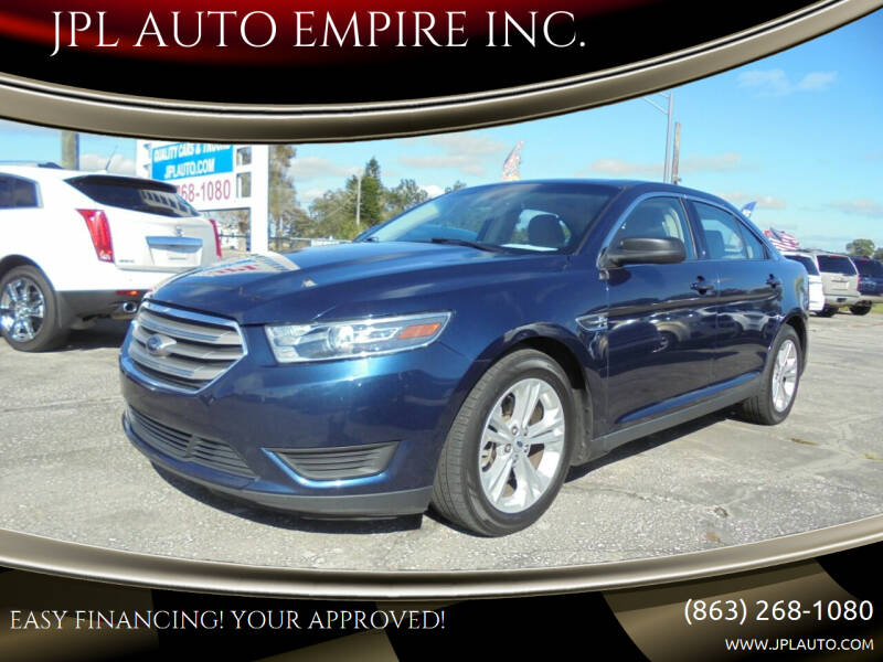 2017 Ford Taurus for sale at JPL AUTO EMPIRE INC. in Auburndale FL