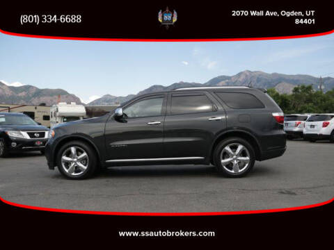 2011 Dodge Durango for sale at S S Auto Brokers in Ogden UT
