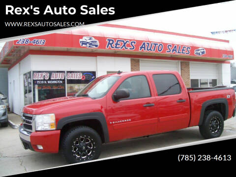 2008 Chevrolet Silverado 1500 for sale at Rex's Auto Sales in Junction City KS