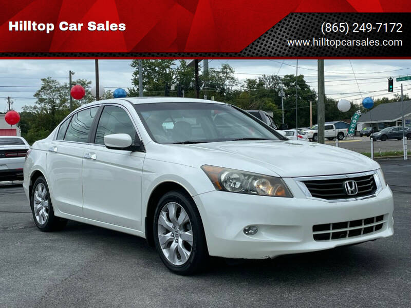 2009 Honda Accord for sale at Hilltop Car Sales in Knoxville TN