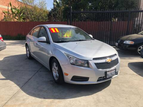 2011 Chevrolet Cruze for sale at The Lot Auto Sales in Long Beach CA