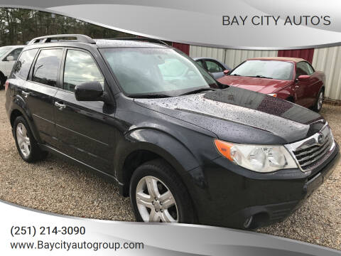 2009 Subaru Forester for sale at Bay City Auto's in Mobile AL
