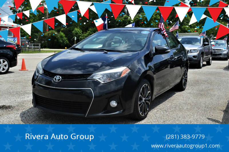 2016 Toyota Corolla for sale at Rivera Auto Group in Spring TX