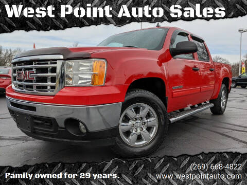 2010 GMC Sierra 1500 for sale at West Point Auto Sales in Mattawan MI