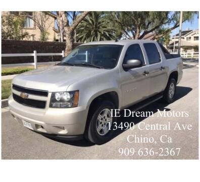 2007 Chevrolet Avalanche for sale at IE Dream Motors in Upland CA