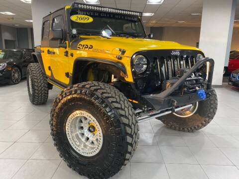 2009 Jeep Wrangler Unlimited for sale at Auto Mall of Springfield in Springfield IL