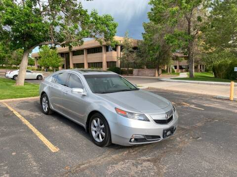 2012 Acura TL for sale at QUEST MOTORS in Englewood CO