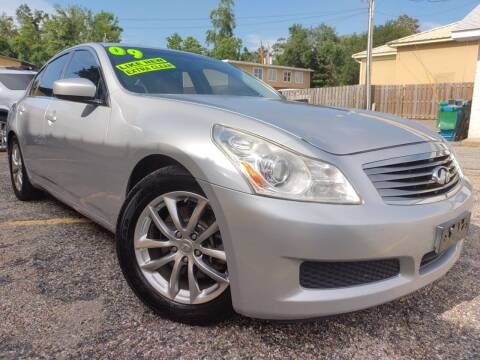 2009 Infiniti G37 Sedan for sale at The Auto Connect LLC in Ocean Springs MS